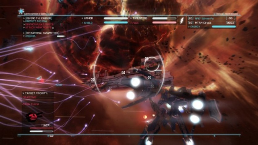 Screenshot 8 - Strike Suit Zero Director's Cut