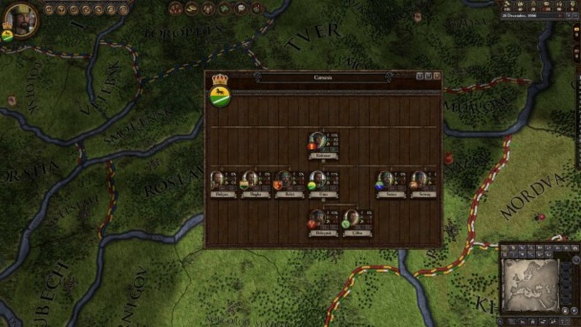 Screenshot 9 - Crusader Kings II: Turkish Portraits