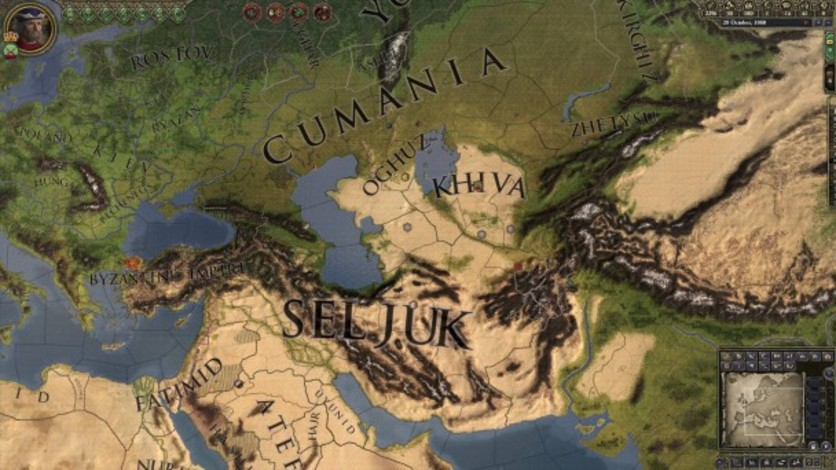 Screenshot 2 - Crusader Kings II: Turkish Portraits