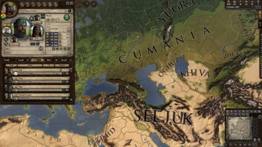 Screenshot 3 - Crusader Kings II: Turkish Portraits