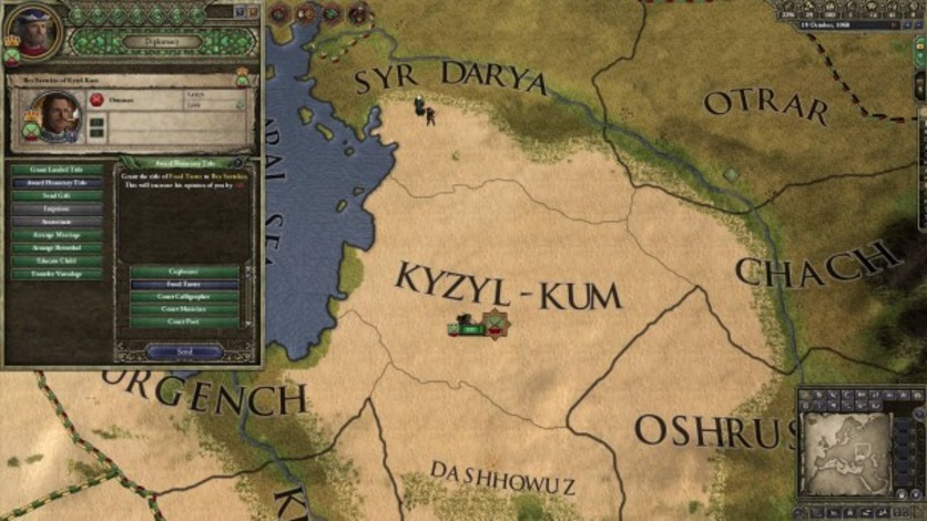Screenshot 4 - Crusader Kings II: Turkish Portraits