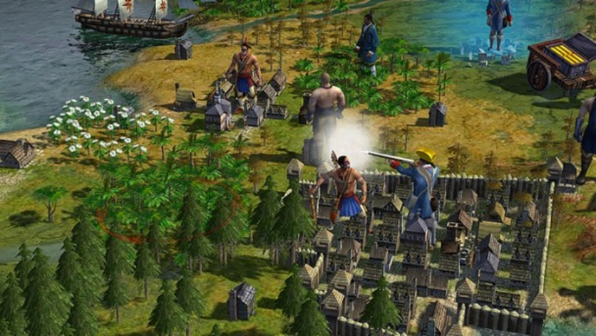 Screenshot 2 - Sid Meier's Civilization IV: Colonization