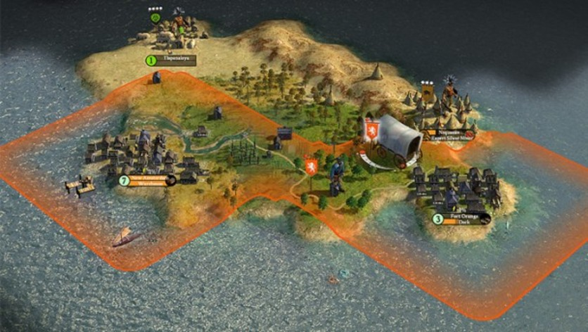 Screenshot 1 - Sid Meier's Civilization IV: Colonization