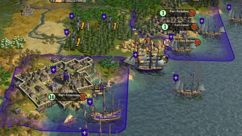 Screenshot 3 - Sid Meier's Civilization IV: Colonization