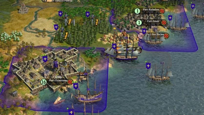 Screenshot 3 - Sid Meier's Civilization IV: Colonization (MAC)