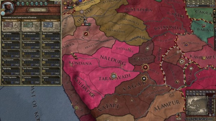 Screenshot 1 - Crusader Kings II: Songs of India