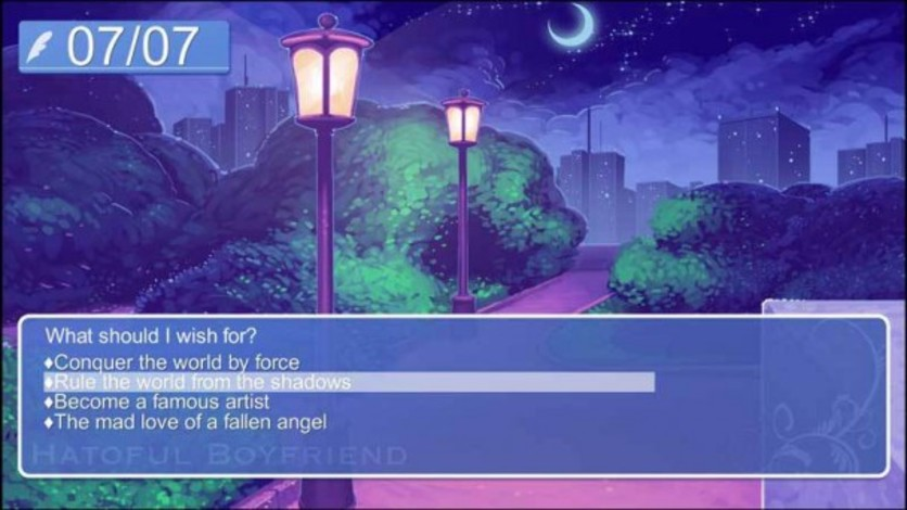 Screenshot 3 - Hatoful Boyfriend