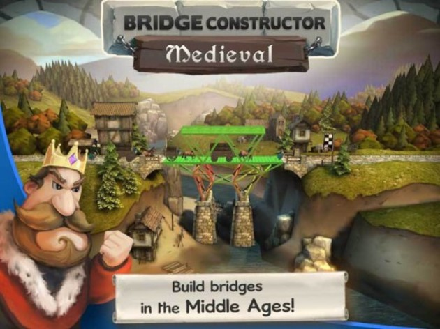 Screenshot 3 - Bridge Constructor Medieval
