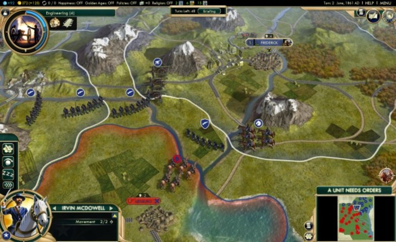 Screenshot 1 - Sid Meier's Civilization V: Brave New World (MAC)