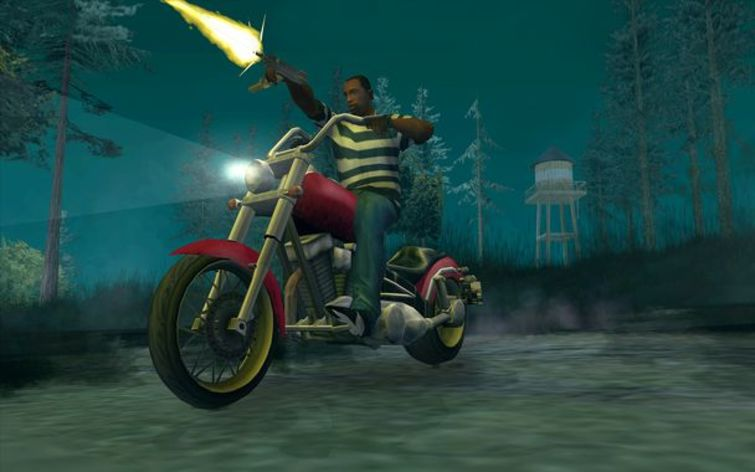 Screenshot 8 - Grand Theft Auto: San Andreas