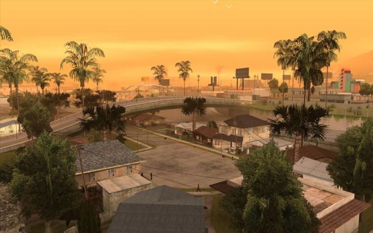Screenshot 2 - Grand Theft Auto: San Andreas