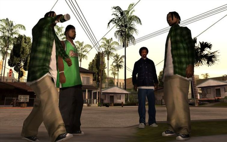 Screenshot 6 - Grand Theft Auto: San Andreas