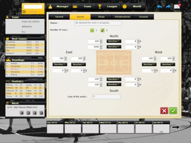 Screenshot 4 - Basketball Pro Management 2014