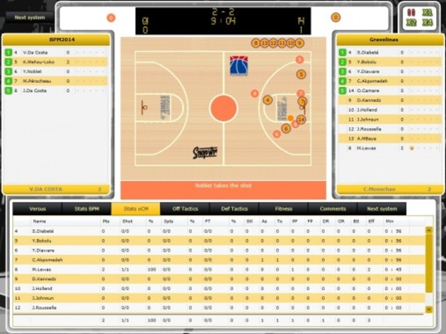 Screenshot 1 - Basketball Pro Management 2014