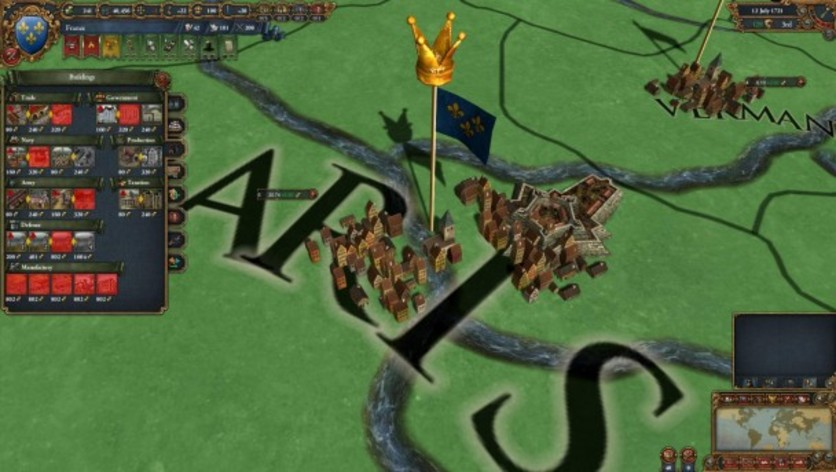 Screenshot 1 - Europa Universalis IV: Common Sense