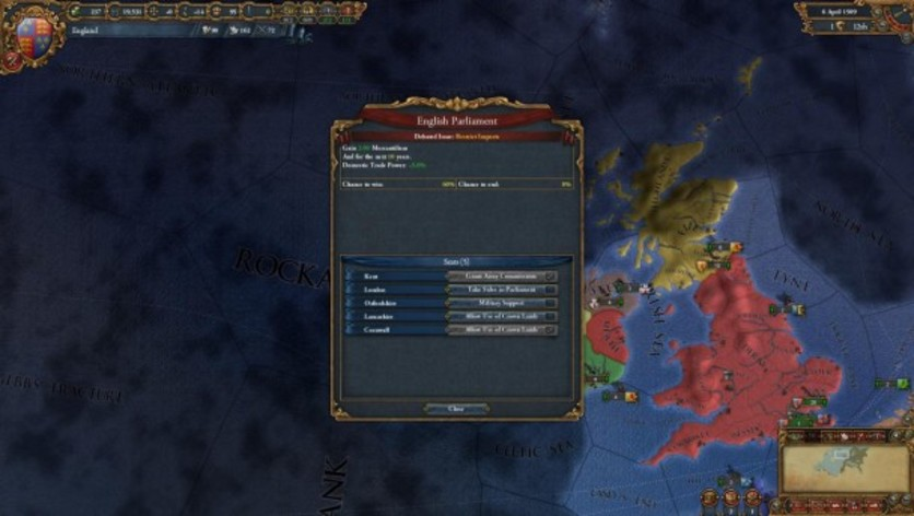 Screenshot 3 - Europa Universalis IV: Common Sense