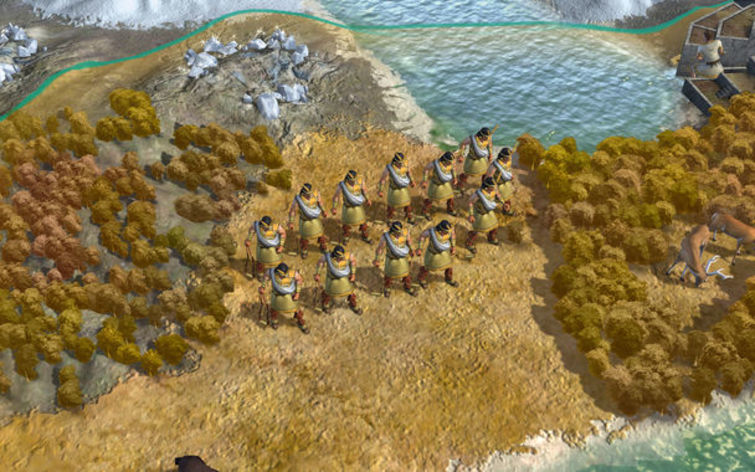 Screenshot 1 - Sid Meier's Civilization V: Spain and Inca (MAC)