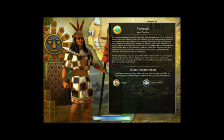 Screenshot 2 - Sid Meier's Civilization V: Spain and Inca (MAC)