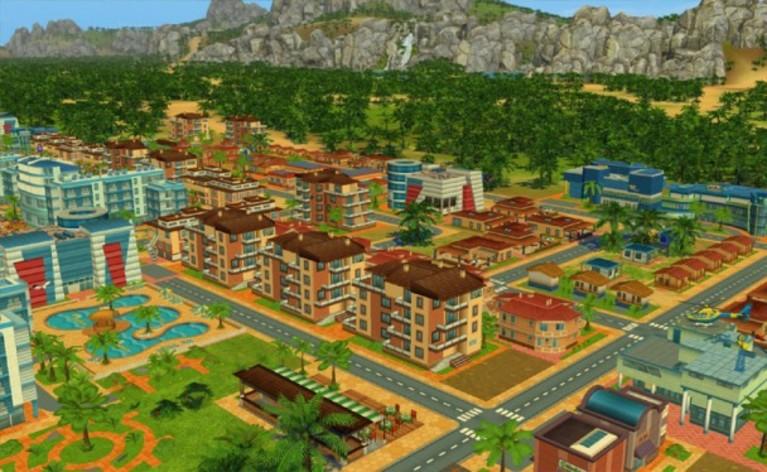 Screenshot 1 - Beach Resort Simulator