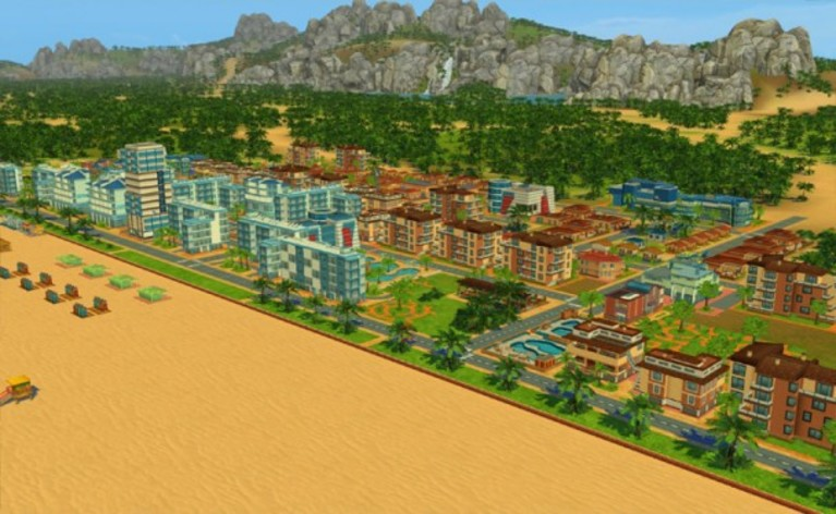 Screenshot 3 - Beach Resort Simulator