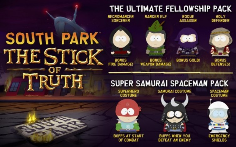 Screenshot 1 - South Park: The Stick of Truth - Ultimate Fellowship & Samurai Spaceman Bundle