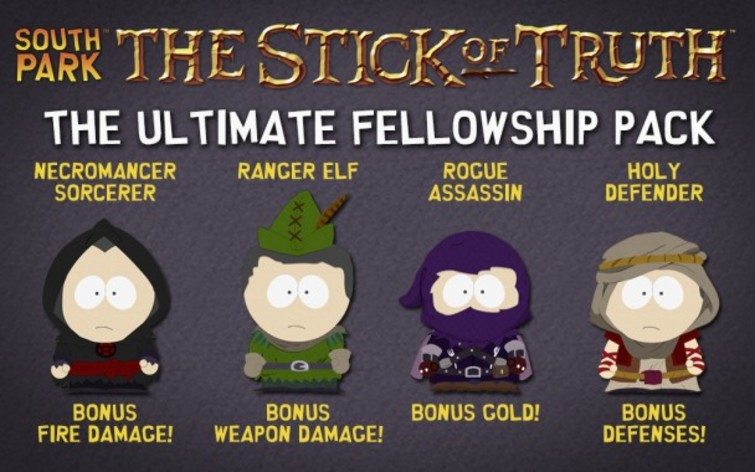 Screenshot 1 - South Park: The Stick of Truth - Ultimate Fellowship Pack