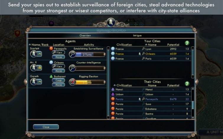 Screenshot 3 - Sid Meier's Civilization V: Gods and Kings