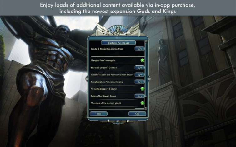 Screenshot 2 - Sid Meier's Civilization V: Gods and Kings