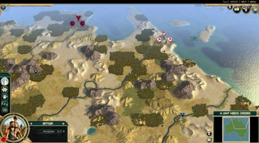Screenshot 2 - Sid Meier's Civilization V: Scrambled Nations Map Pack