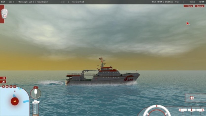 Screenshot 3 - Ship Simulator: Maritime Search and Rescue