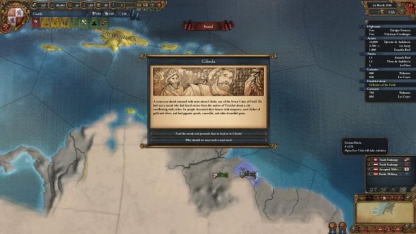 Screenshot 3 - Europa Universalis IV: The El Dorado Collection