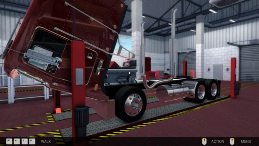 Screenshot 2 - Truck Mechanic Simulator 2015