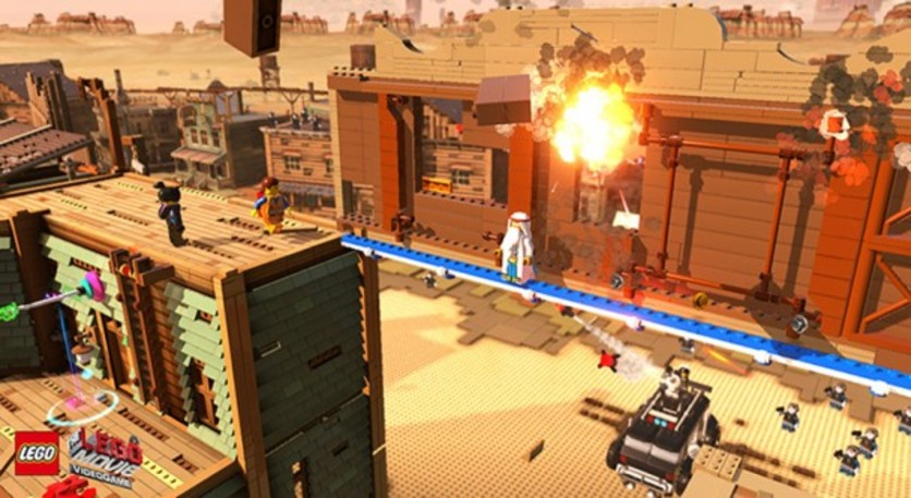 Screenshot 4 - The LEGO Movie - Videogame