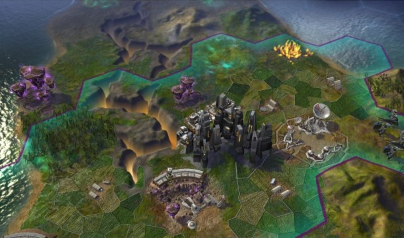 Screenshot 3 - Sid Meier's Civilization Beyond Earth (Mac)