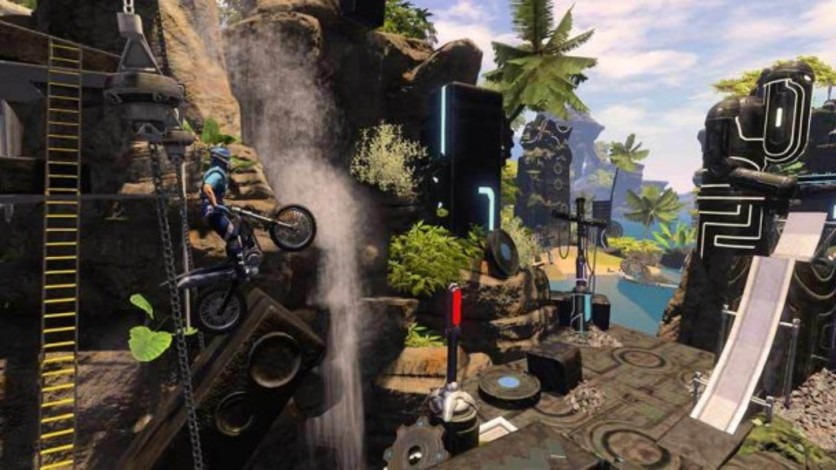 Screenshot 1 - Trials Fusion: Welcome to the Abyss