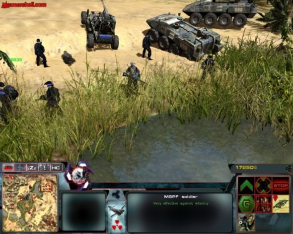 Screenshot 2 - Act of War: Direct Action