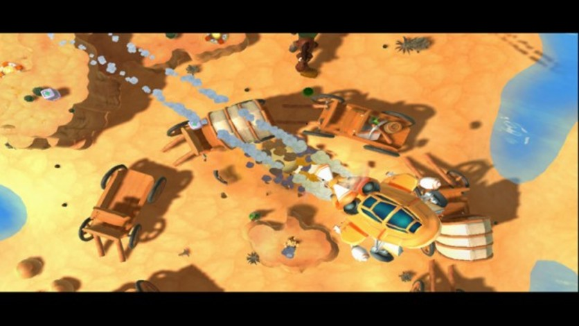 Screenshot 2 - Worms Ultimate Mayhem Deluxe Edition