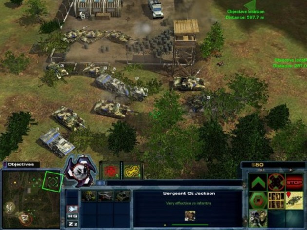 Screenshot 5 - Act of War: High Treason