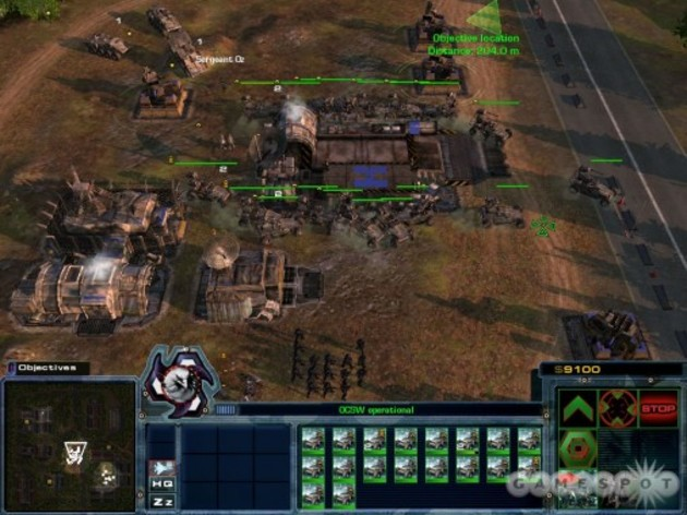 Screenshot 1 - Act of War: High Treason