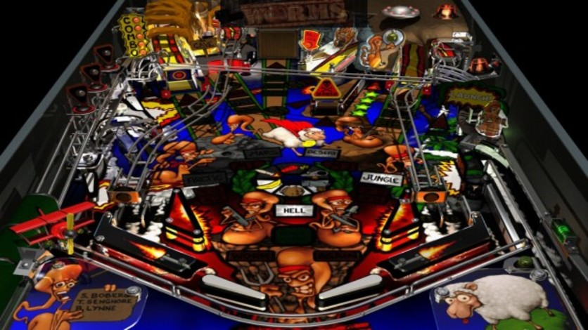 Screenshot 6 - Worms Pinball