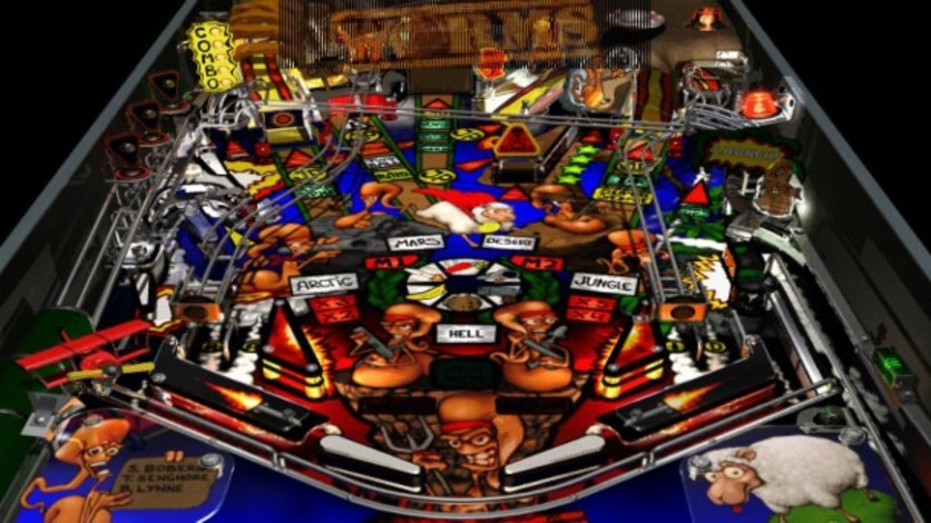 Screenshot 3 - Worms Pinball