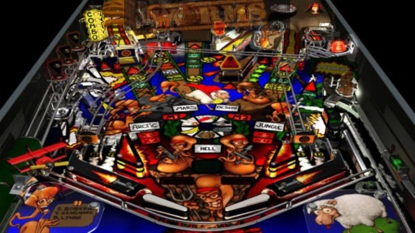Screenshot 3 - Worms Pinball