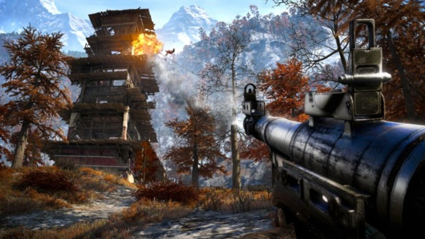 Screenshot 1 - Far Cry 4 - Escape from Durgesh Prison