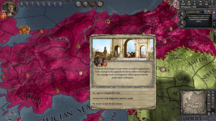 Screenshot 5 - Crusader Kings II: Legacy of Rome