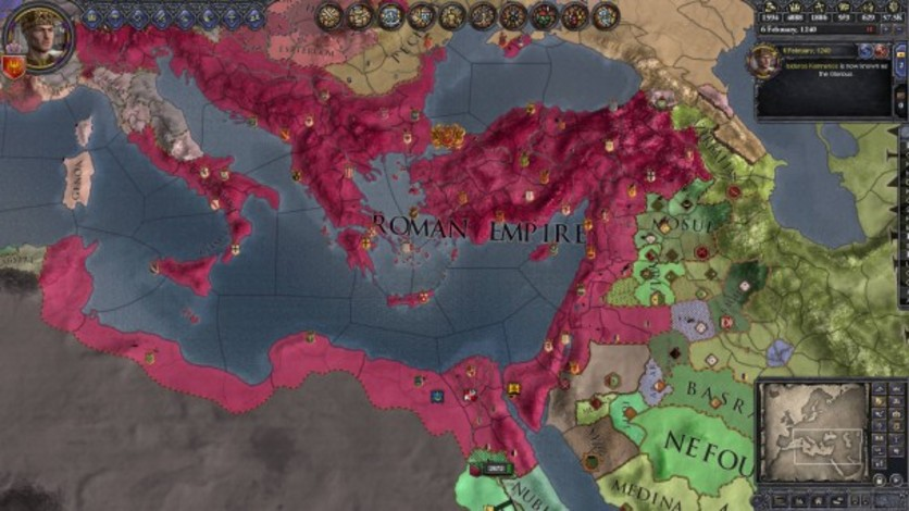 Screenshot 1 - Crusader Kings II: Legacy of Rome