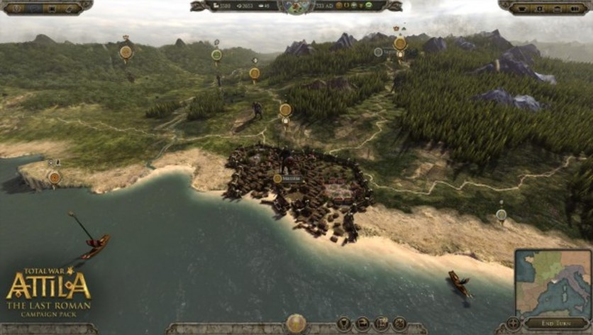 Screenshot 6 - Total War: ATTILA - The Last Roman Campaign Pack