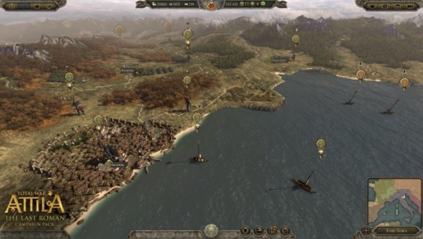 Screenshot 5 - Total War: ATTILA - The Last Roman Campaign Pack