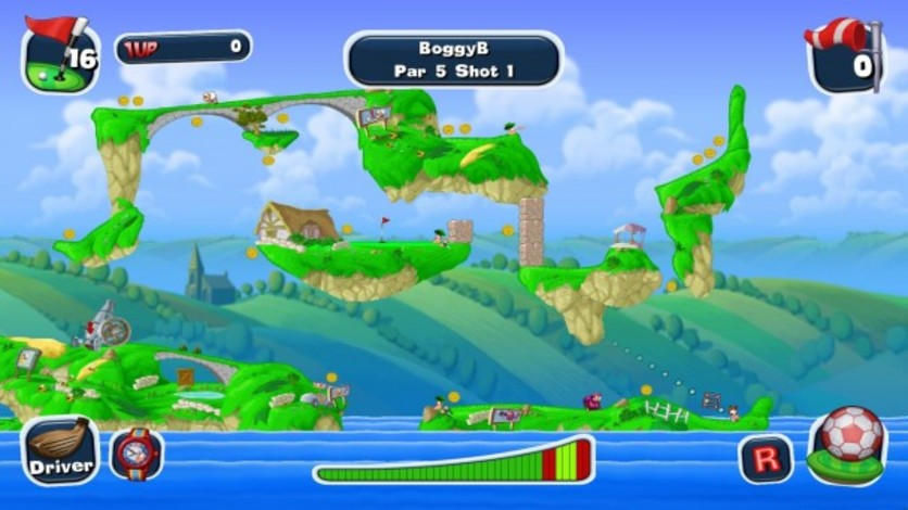Screenshot 13 - Worms Crazy Golf