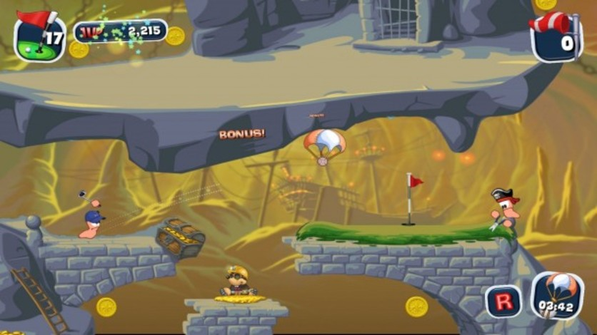 Screenshot 8 - Worms Crazy Golf