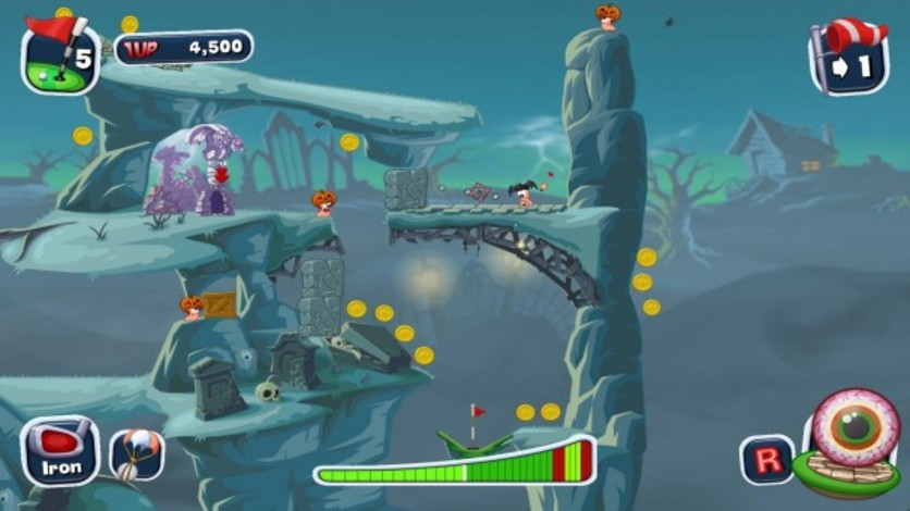 Screenshot 4 - Worms Crazy Golf